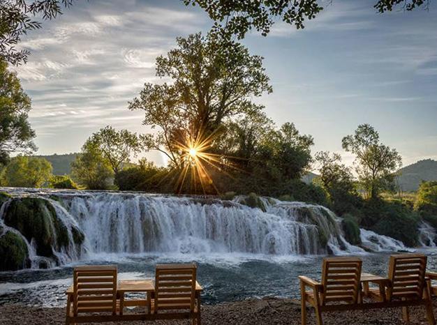 Waterfall Kocusa